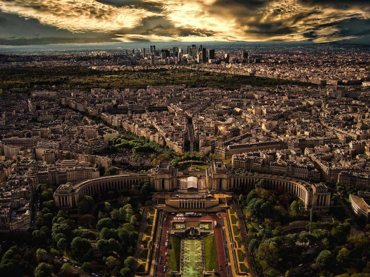 Paris, from Tour Eiffel